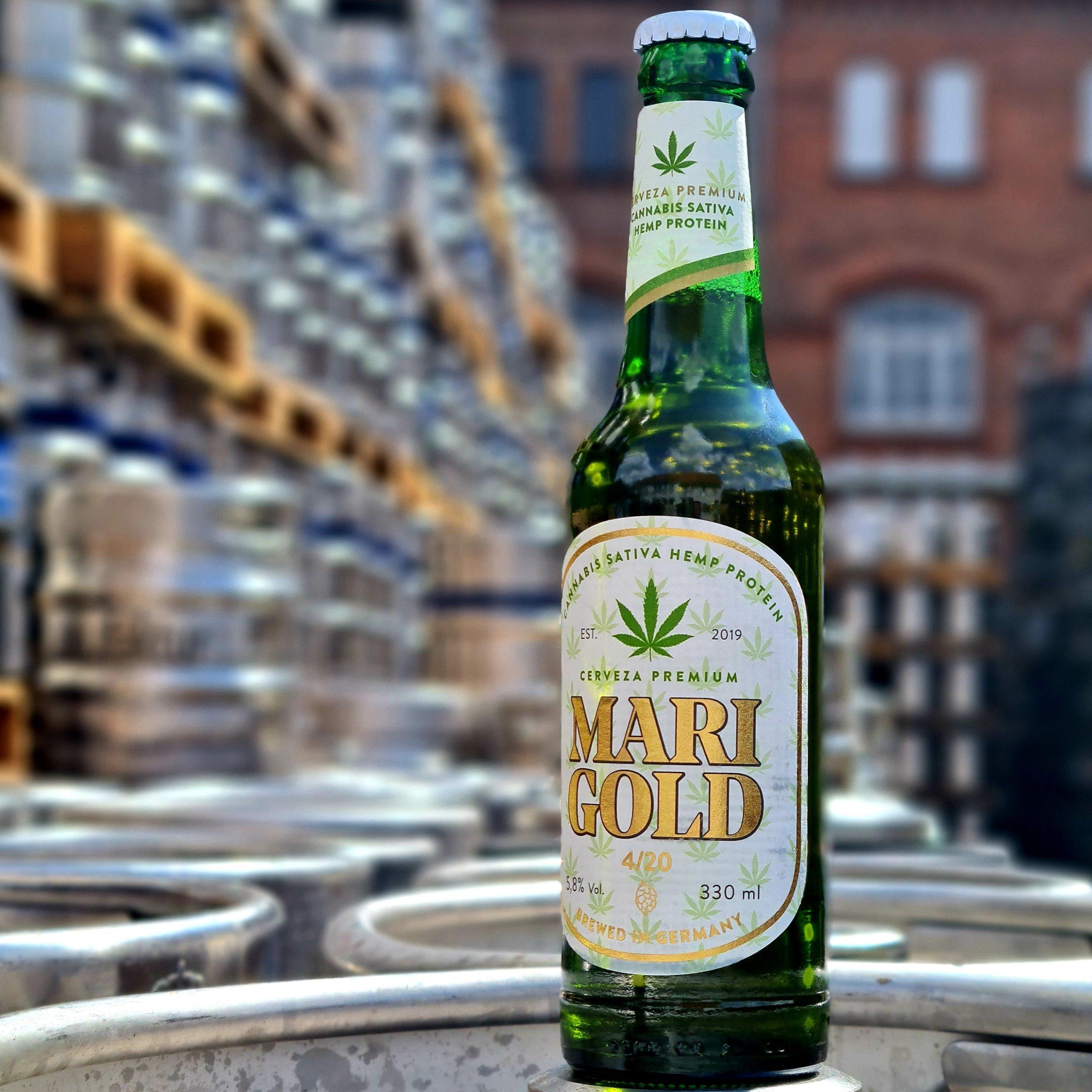Cerveza tradicional de moda